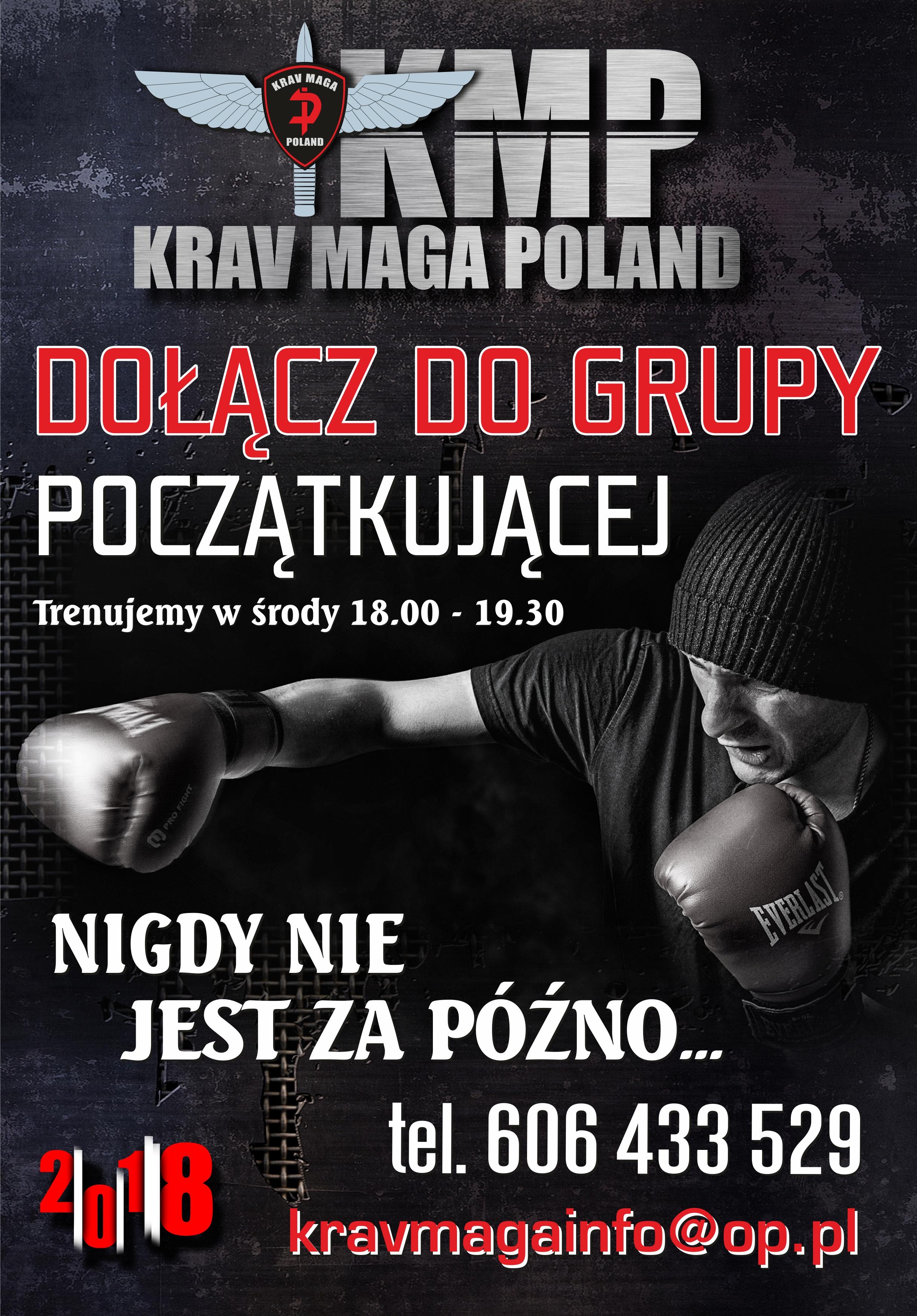 Krav Maga Poland, sekcja Rzeszów - zapisy do nowej grupy