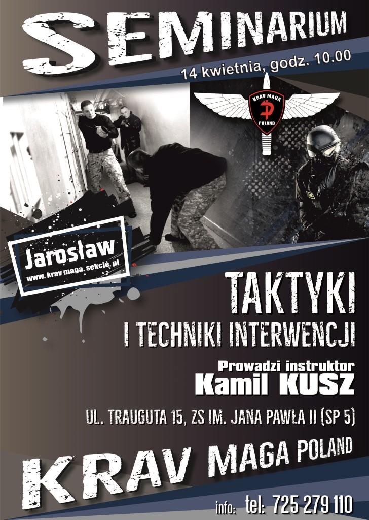 Taktyki i techniki interwencji - Seminarium w Jarosławiu