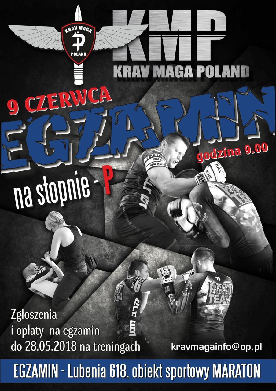 Egzamin na stopnie P Krav Maga Poland czerwiec 2018